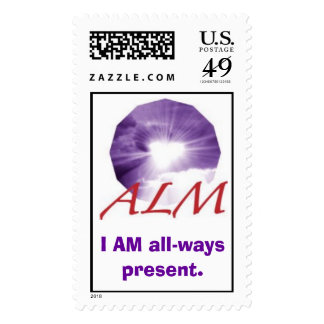 alm_logo03, I AM all-ways present. Stamps