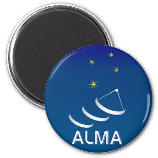 ALMA 2 INCH ROUND MAGNET