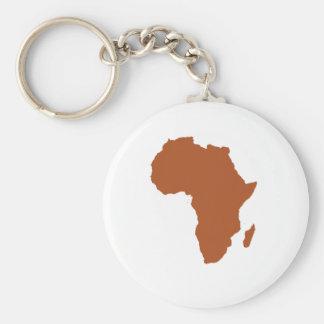 Alma africana llavero redondo tipo pin