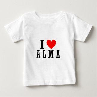 Alma, Alabama City Design Baby T-Shirt