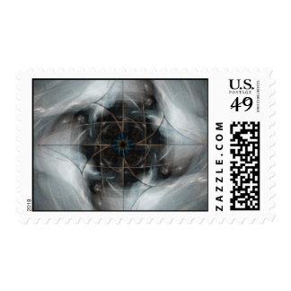 Alma corrupta timbre postal