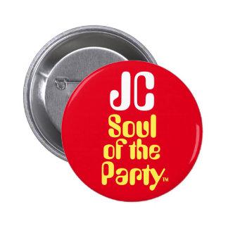 """Alma de JC de Jeremy Corbyn """"de la insignia del Pin Redondo De 2 Pulgadas"""