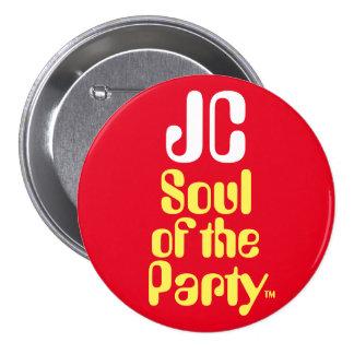 """Alma de JC de Jeremy Corbyn """"de la insignia del Pin Redondo De 3 Pulgadas"""