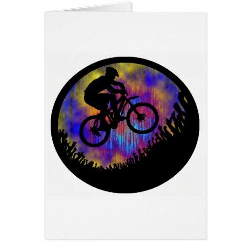 Alma de la bici estacada felicitación