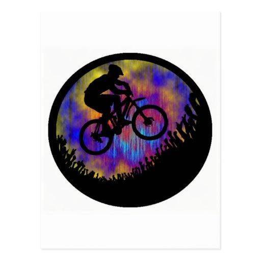 Alma de la bici estacada tarjetas postales