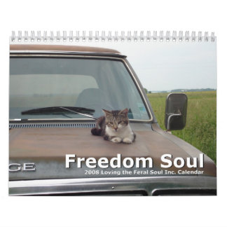 Alma de la libertad - amor del calendario salvaje