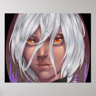 Alma de ojos póster