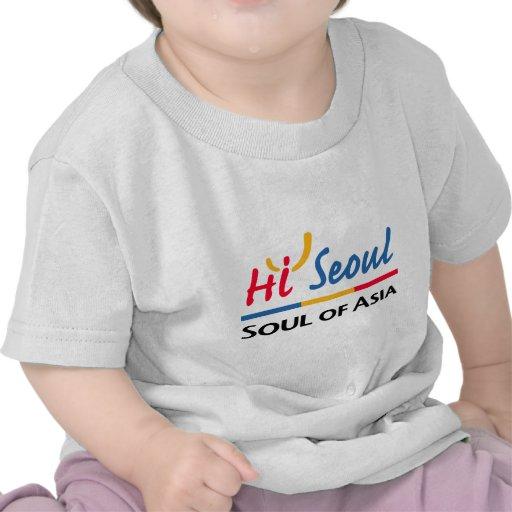 Alma de Seul de Asia Camisetas