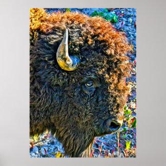 Alma del búfalo póster