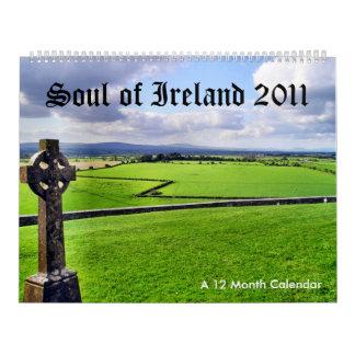 Alma del calendario de Irlanda 2011