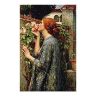 Alma del color de rosa de John William Waterhouse Fotografías
