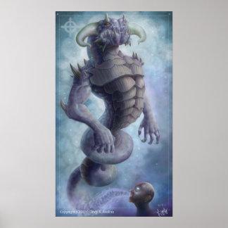 Alma del dragón póster