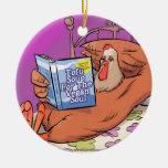 Alma del vegano del queso de soja divertida adornos de navidad