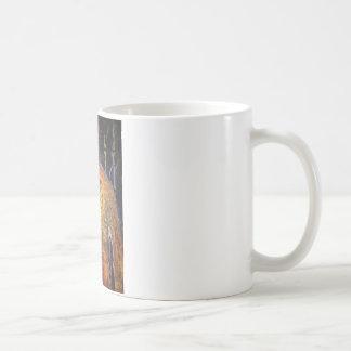 Alma en el fuego taza de café