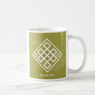 Alma eterna taza de café