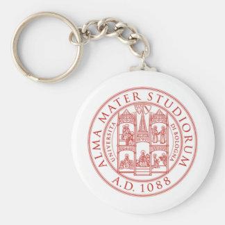 Alma Mater Studiorum Basic Round Button Keychain