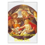 Alma Matrum Dies Sit. Card