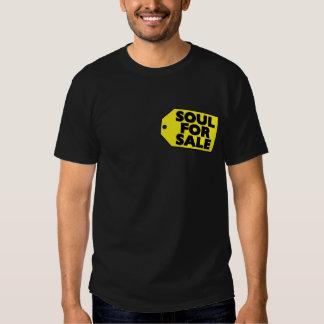 Alma para la camiseta del precio de la venta playeras