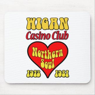 Alma septentrional del club del casino de Wigan Tapete De Ratón