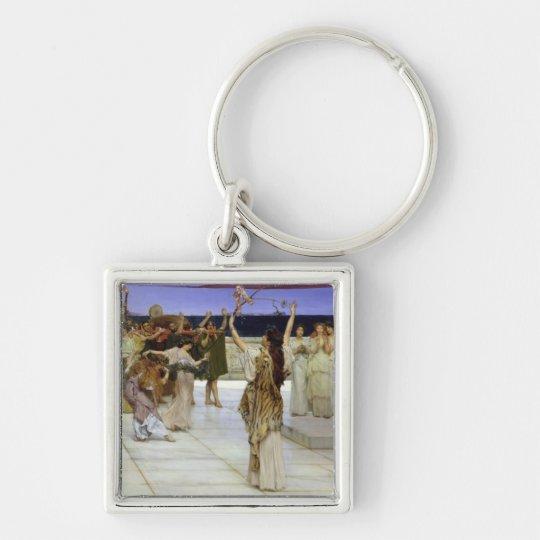 Alma-Tadema | A Dedication to Bacchus Keychain