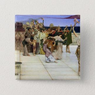Alma-Tadema |A Dedication to Bacchus Pinback Button