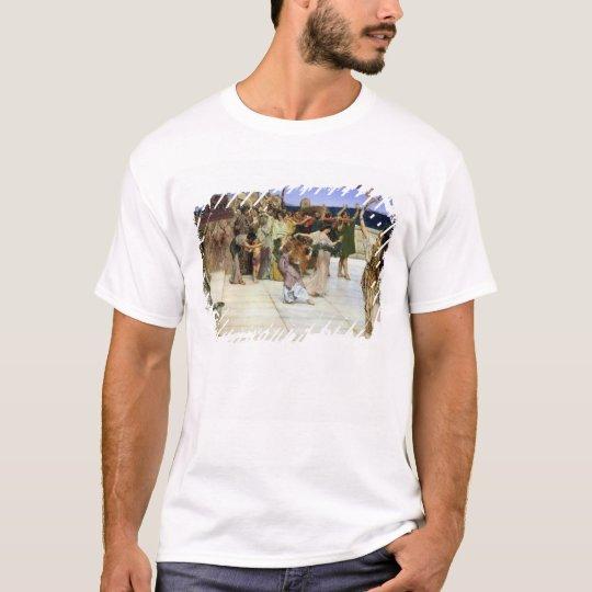 Alma-Tadema  A Dedication to Bacchus T-Shirt