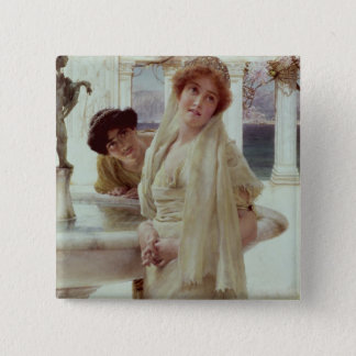 Alma-Tadema | A Difference of Opinion Pinback Button