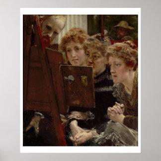 Alma-Tadema | A Family Group, 1896 Poster