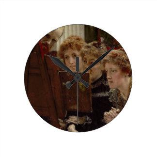 Alma-Tadema | A Family Group, 1896 Round Clock