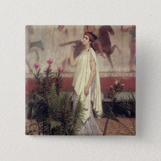 Alma-Tadema | A Greek Woman, 1869 Pinback Button