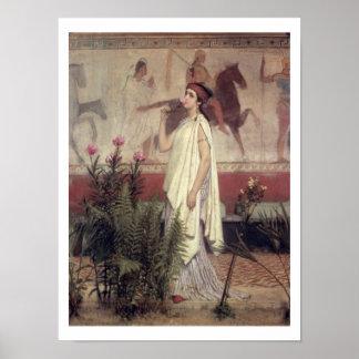 Alma-Tadema | A Greek Woman, 1869 Poster