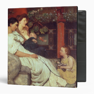 Alma-Tadema | A Roman Family, 1867 3 Ring Binder