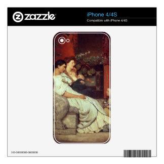 Alma-Tadema   A Roman Family, 1867 iPhone 4 Skin