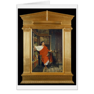 Alma-Tadema | A Roman Scribe Writing Dispatches Card