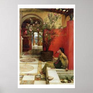 Alma-Tadema | An Oleander, 1882 Poster