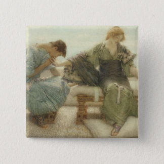 Alma-Tadema | Ask me no more, 1886 Pinback Button