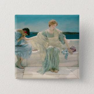 Alma-Tadema | Ask me no more, 1906 Button