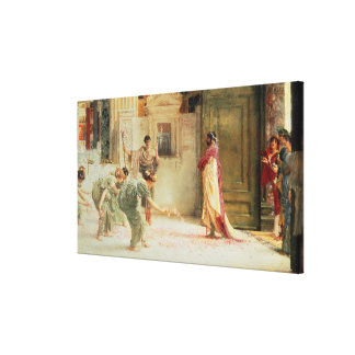 Alma-Tadema | Caracalla: AD 211, 1902 Canvas Print