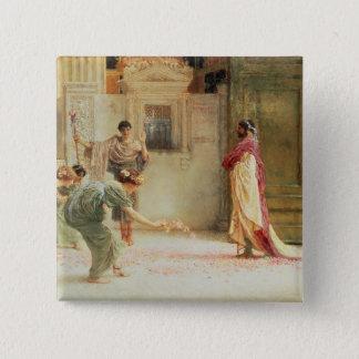 Alma-Tadema | Caracalla: AD 211, 1902 Pinback Button
