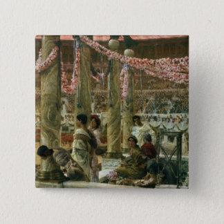 Alma-Tadema | Caracalla and Geta, 1907 Pinback Button