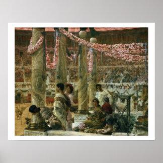 Alma-Tadema | Caracalla and Geta, 1907 Poster