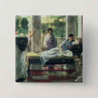 Alma-Tadema | Catullus Reading his Poems Button