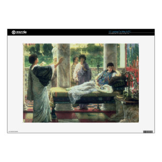 "Alma-Tadema | Catullus Reading his Poems Decals For 15"" Laptops"