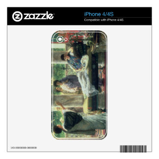 Alma-Tadema | Catullus Reading his Poems iPhone 4 Decals