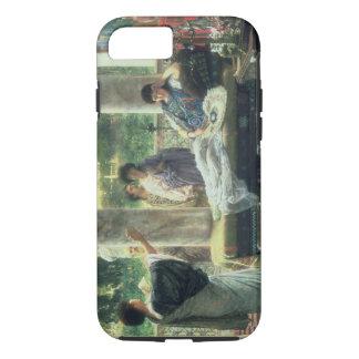 Alma-Tadema | Catullus Reading his Poems iPhone 7 Case
