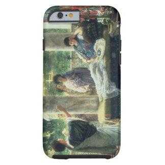 Alma-Tadema | Catullus Reading his Poems Tough iPhone 6 Case