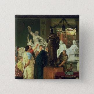 Alma-Tadema | Dealer in Statues Button