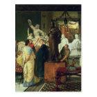 Alma-Tadema | Dealer in Statues Postcard
