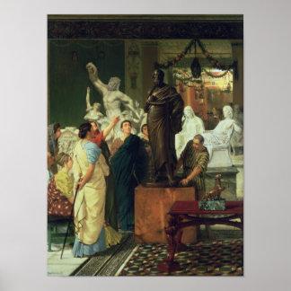 Alma-Tadema   Dealer in Statues Poster