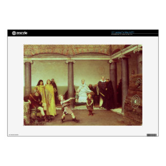 "Alma-Tadema | Education of Children of Clothilde 15"" Laptop Skin"